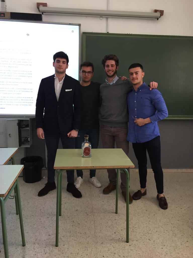 Equipo formado por  Francisco Javier Lemus Rojas, Javier Martínez Fariña, Santiago José Martínez González y Alberto Sánchez Mohedano.